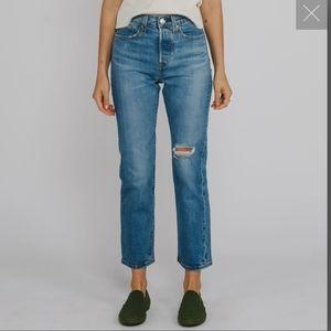Levi's WEDGIE Premium Straight Jeans